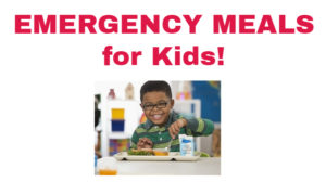 Emergency Meals for Kids