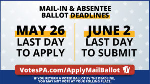 Apply for Primary Election Mail-In Ballot